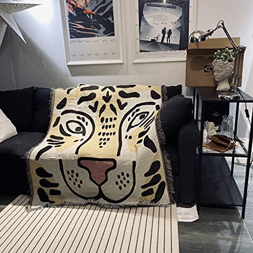 YTLSA tapizMantas Casuales Decoración de alfombras Guitarra Mujer Alfombra Matisse Sofá Alfombra de Ocio Tapiz Individual Manta de sofá Mantas de Tiro