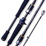 Seaquest Cannes pêche au Lancer Lourd et combiné Cannes à pêche Baitcasting2.1m Fishing Lure Rod Monster 702MC