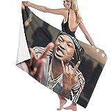 Ralapmill Asciugamano per Cuscino in Tessuto con Stampa Fai-da-Te Mill Miller Rapper in Po...