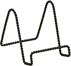 TRIPAR 23-1242 9.38 Inch Twisted Black Wire Stand
