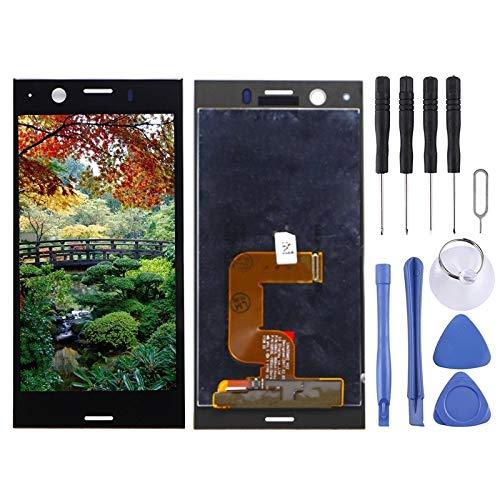 Dmtrab Repuesto de Pantalla LCD y digitalizador Parte de la asamblea Completa for Sony Xperia XZ1 Compacto (Negro) (Color : Black)