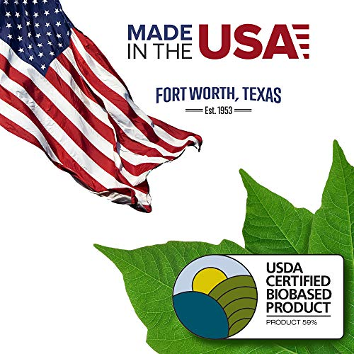 Samsill Earth's Choice Biobased Durable 3 Ring View Binder, 1.5 Inch Round Ring, Up to 25% Plant Based Plastic, USDA Certified Biobased, Eco-Friendly, Customizable Cover, White, 4 Pack (I08957) Photo #8