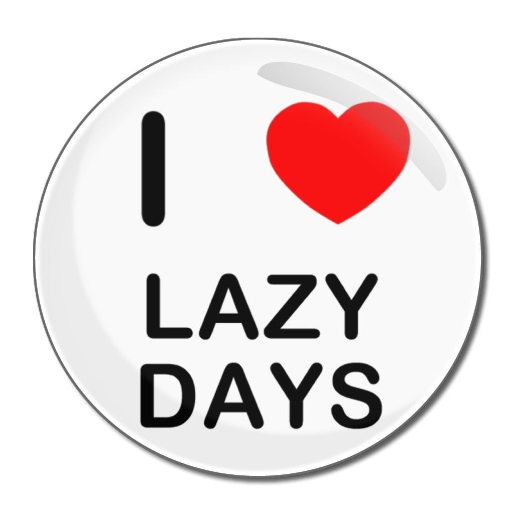 I love Lazy Days   Kompakter Spiegel mit 18 mm Durchmesser ...
