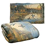 Wild Wings Ducks On The Lake Silky Touch Super Soft Throw Blanket 36' x 58'