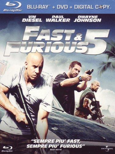 Fast & furious 5(+DVD+digital copy) [Italia] [Blu-ray]