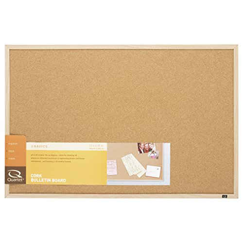 Quartet Cork Board Bulletin Board, 23