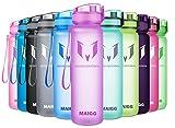 MAIGG Botella de Agua Deportiva - para Correr, Gimnasio, Yoga, Aire Libre y Camping-500ml Purple