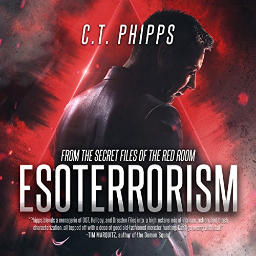 Esoterrorism audiobook cover art