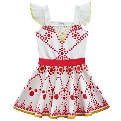 Disfraz de princesa de ballet, vestido para ballet, blanco