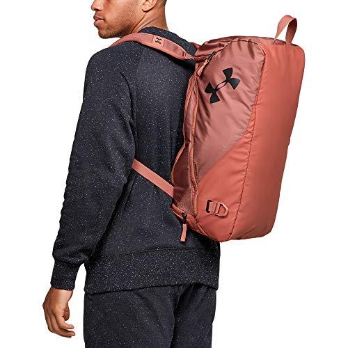 Under Armour Duffle-Tasche für Erwachsene, Duffle-Tasche, Zedernbraun (226)/Schwarz, Einheitsgröße