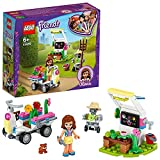 LEGO Friends Il Giardino dei Fiori di Olivia, Playset con gli Attrezzi, il Robot Zobo e il Veicolo Giocattolo, 41425