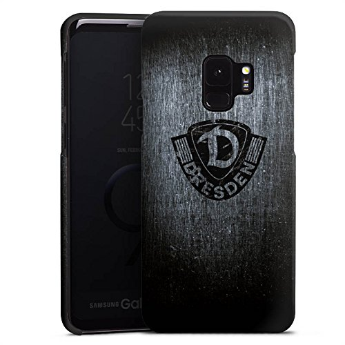 Premium Case kompatibel mit Samsung Galaxy S9 Smartphone Handyhülle Hülle matt SG Dynamo Dresden Offizielles Lizenzprodukt Vintage