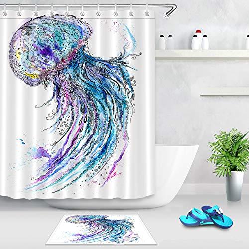La Mejor Recopilación de Cortinas para baño los más recomendados. 13