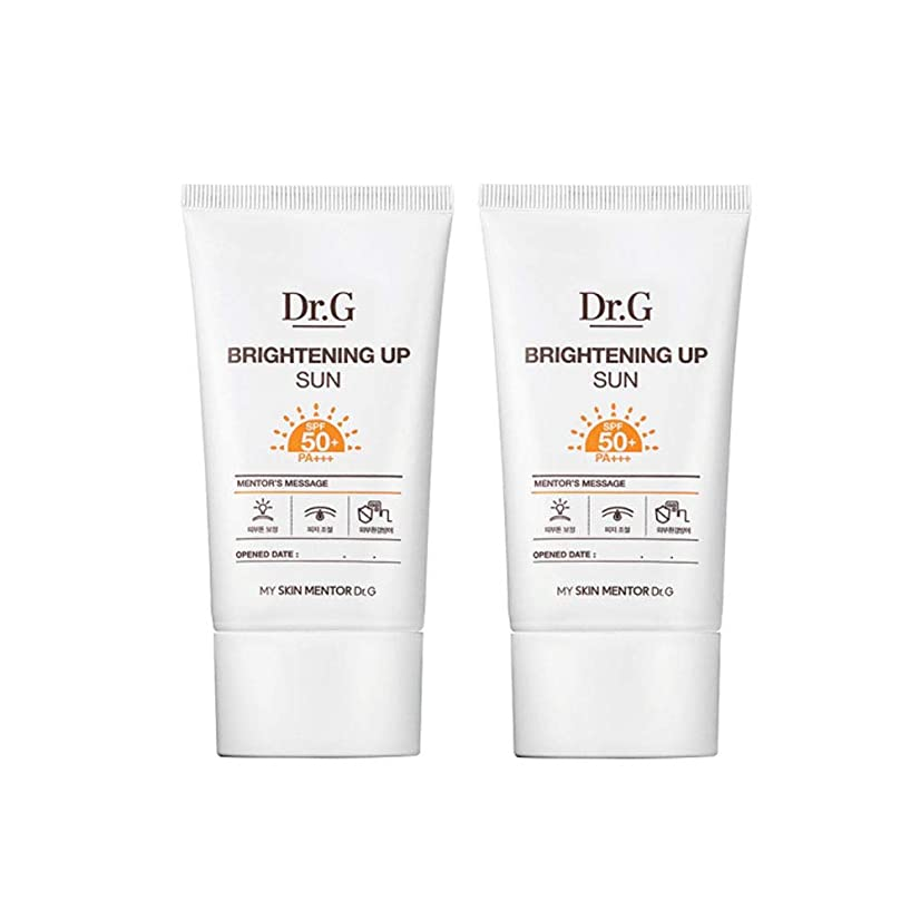 タンカー残りギャロップドクターGブライトニングアップサンSPF50+ PA+++50ml x2本セットサンクリーム、Dr.G Brightening Up Sun SPF50+ PA+++ 50ml x 2ea Set Sun Cream [並行輸入品]