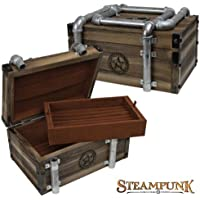 Steampunk Gaslight 72-Pair Cufflinks Chest