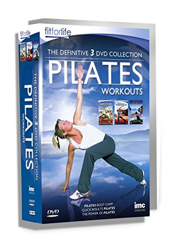 Pilates The Definitive Triple DVD Box Set - Containing Pilates Bootcamp Workout, Quick Results Pilates and The Power of Pilates - Fit for Life Series [Reino Unido]