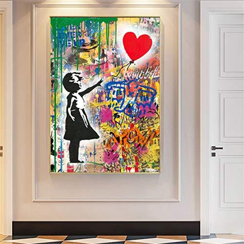 Rompecabezas Puzzle 1000 Piezas Arte Abstracto de Graffiti Creativo Difícil Rompecabezas Grande Educativo El Alivio del Estrés Juguete para Adultos Niños 50x75cm
