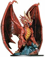 D & D Minis: Huge Red Dragon # 71 - Giants of Legend