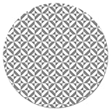 alfombra vinilo redonda