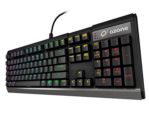 Ozone Strike X30 - OZSTRIKEX30SPRD - Teclado Gaming Mecánico, LED, Color Negro