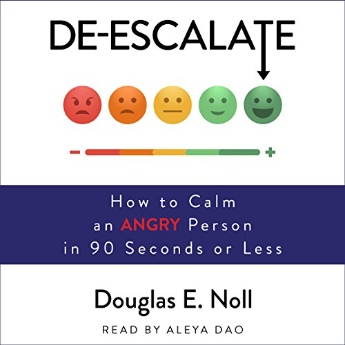 De-Escalate audiobook cover art