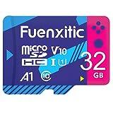 Fuenxitic Tarjeta MicroSD de 32 GB con adaptador, tarjeta microSDXC U3 para Nintendo Switch, tarjeta de memoria V30 para Gopro Held 7 Held 8 Android Smartphone Cámara Digital Tablet y DJI Drone