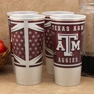 Westrick Texas A&M Aggies 24 oz Souvenir Cups - 4/pkg.