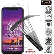 ANEWSIR Schutzfolie für Motorola One, Motorola One Displayschutzfolie, [2 Stück] 9H Härte, Ultra-klar, Blasenfrei, Panzerfolie Displayschutzfolie Displayschutz Folie Für Motorola Moto One.