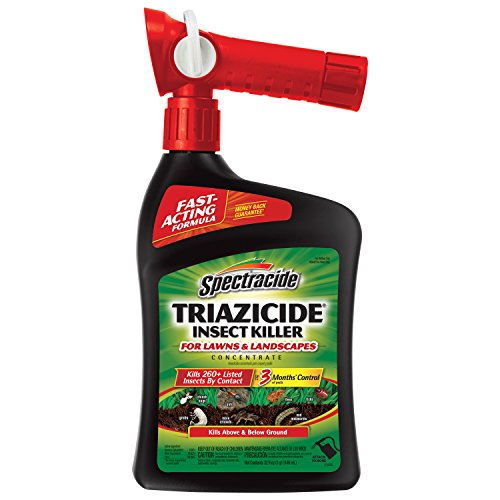 Spectracide Triazicide Insect Killer For Lawns & Landscapes Concentrate, Ready-to-Spray,...