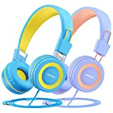 Mpow CH8 Casque Audio Enfant(2 Pack), Casque Enfant,Séparateur De Câble Audio, Limiteur De...