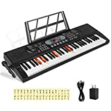 Best Music Keyboards - Hricane Keyboard Piano Lighted Keys for Beginner Adults Review
