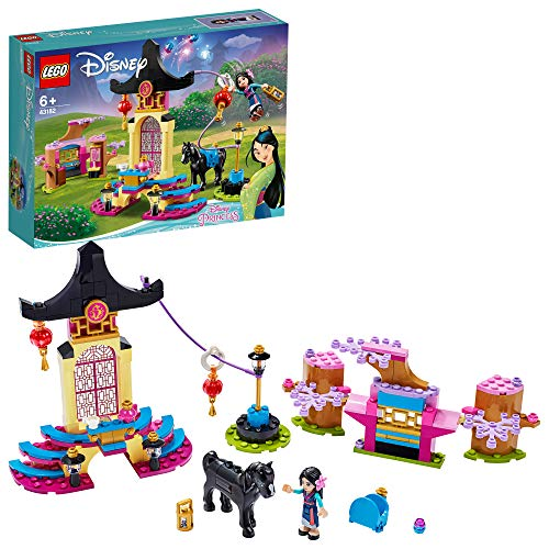 LEGO 43182 - Set di campi da addestramento delle principesse Disney Mulan