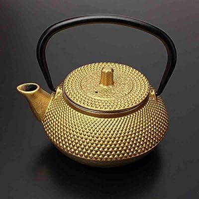 Tannen Théière en fonte Noir/doré 300 ml