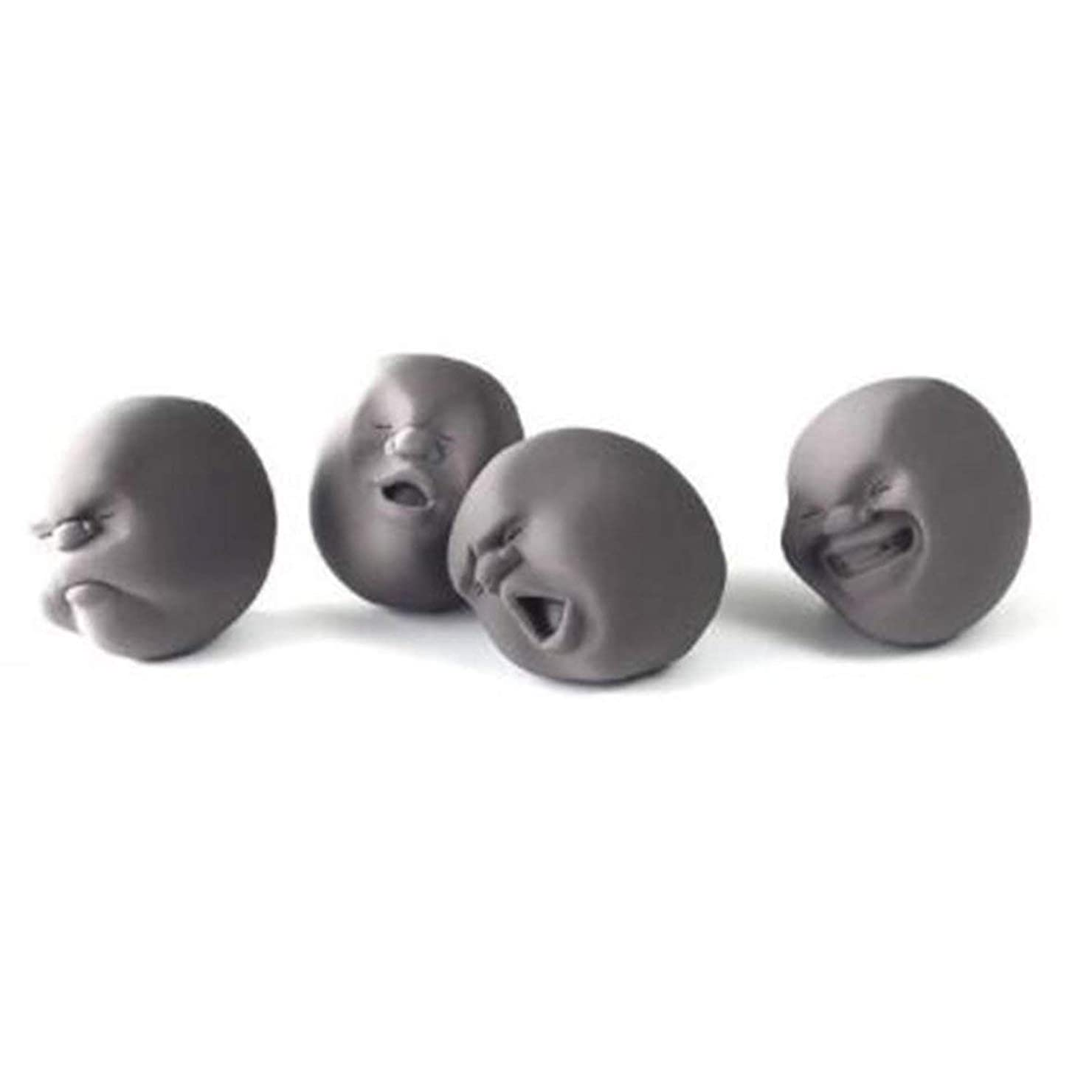 カメラ関税扱いやすいBlackfell 減圧人間の顔ボール面白いアンチストレス玩具