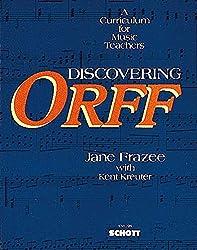 Discovering orff livre sur la musique