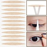 800 Pcs Makeup Breathable Lace Eyelid Tape Invisible Single Side Double Eyelid Stickers