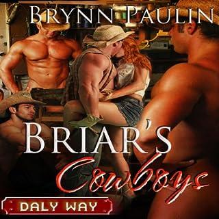 Briar's Cowboys audiobook cover art