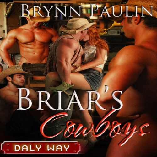 Briar's Cowboys audiobook cover art