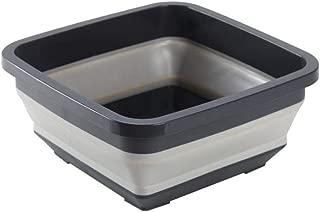 Kbsin212 Collapsible Washing Up Bowl Palangana Plegable de Silicona con un diseño Sencillo y abatible para Camping, Barco y Viajes