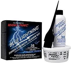 Manic Panic Blue Lightning Hair Bleach Kit 30 Vol
