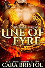 Line of Fyre (Alien Dragon Shifters Book 2)