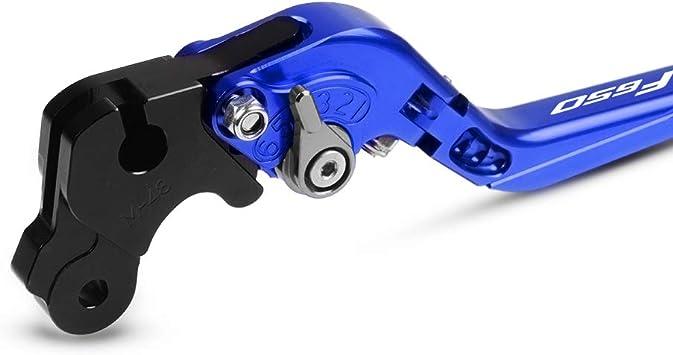 F650gs F650cs Einstellbar Kupplung Bremshebel Cnc Aluminium Für F650gs 2000 2001 2002 2003 2004 2005 2006 2007 F650cs 2003 2004 Blau Blau Blau Titan Auto
