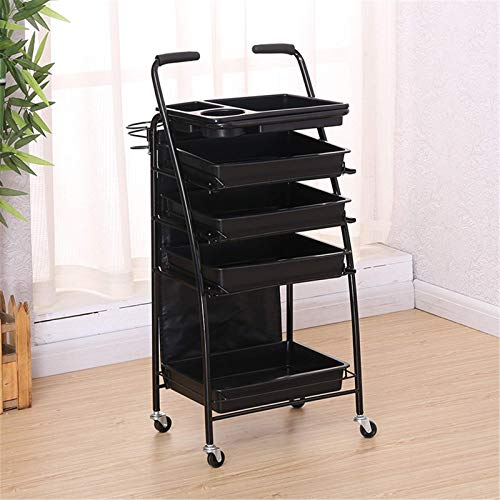 Hairdressing Salon Trolley Hairdressing Trolley Hair Salon Trolley Beauty Salon Tool Trolley Beauty Trolley Barber Shop Trolley Hairdressing Bar for Beauty Make-up