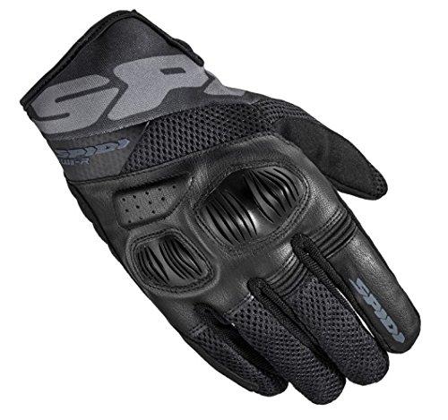 SPIDI Handschuh Textil flash-r Evo, Schwarz, Größe S