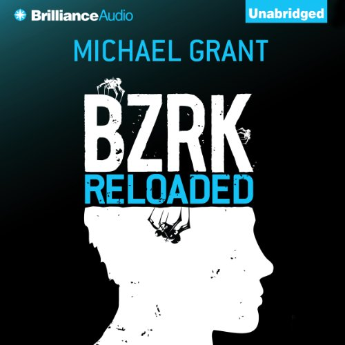 BZRK Reloaded audiobook cover art
