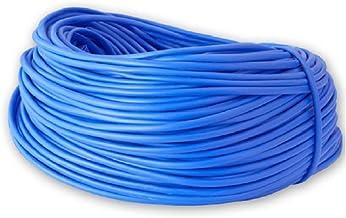 Ali's DIY Elektrisch PVC Blauw Bruin Aarde Sleeving - 2mm, 3mm, 4mm - Rollen en Verschillende Snijlengtes Beschikbaar (1 m...