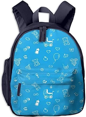 Toddler Backpack for Kids Boys, Blue Toy Baby Pregnancy Pink Lightweight Daycare Kindergarten Preschool Nursery Outdoor Children Bag