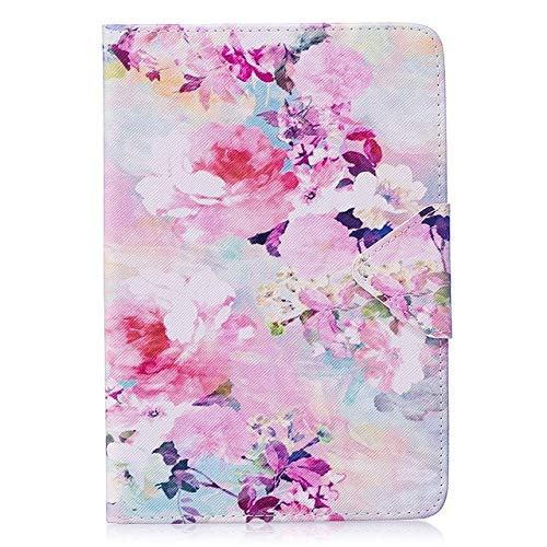 HHF Tab Accessories Fashion Painted Tablet Case For Apple iPad Mini 4 Mini4 Smart Cover Fashion Girl Cat Flip Stand Silicone PU Leather Skin Funda (Color : B076)
