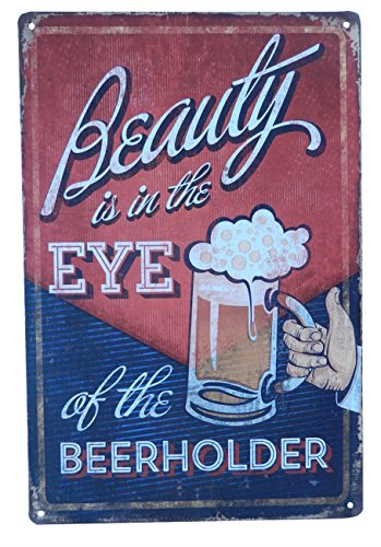 Strosportsandtech Beer Alcohol Drinking Funny Tin Sign Bar Pub Diner Cafe Wall Decor Home Decor Art Poster Retro Vintage