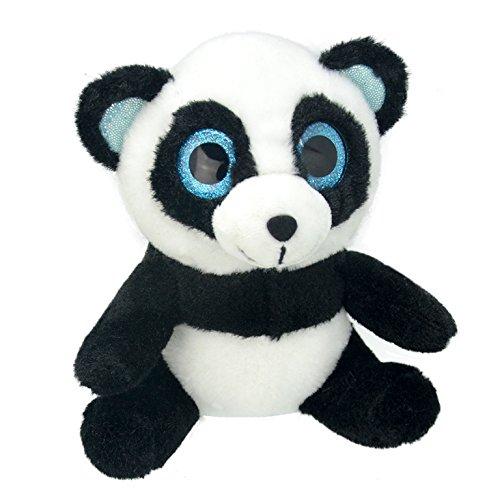 Wild Planet 27 cm orbys Panda en Peluche (Multicolore)